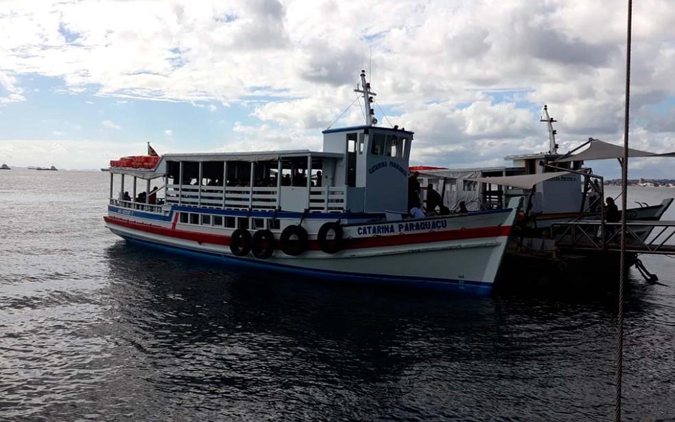 ... Travessia Salvador-Mar Grande volta a operar neste domingo (9) — Foto  544768a99e828