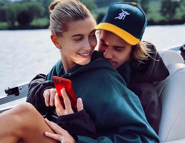 Hailey Baldwin e Justin Bieber (Foto: Instagram)