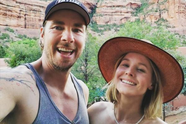Os atores Dax Shepard e Kristen Bell (Foto: Reprodução / Instagram)
