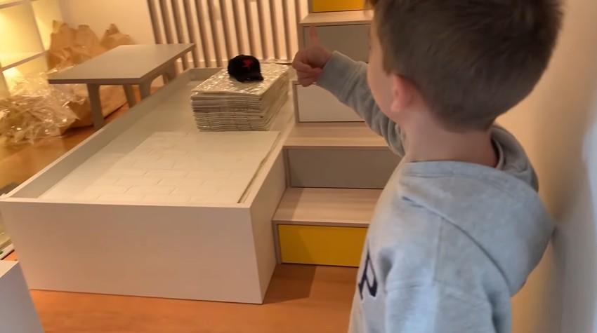 Ana Hickmann reforma quarto do filho em mansão e tamanho impressiona (Foto: YouTube)