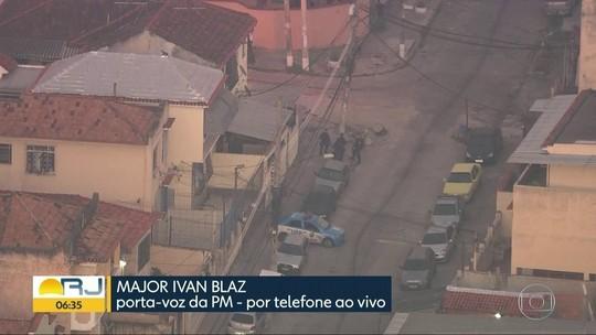 Moradores relatam tiroteio durante operação no Complexo do Alemão