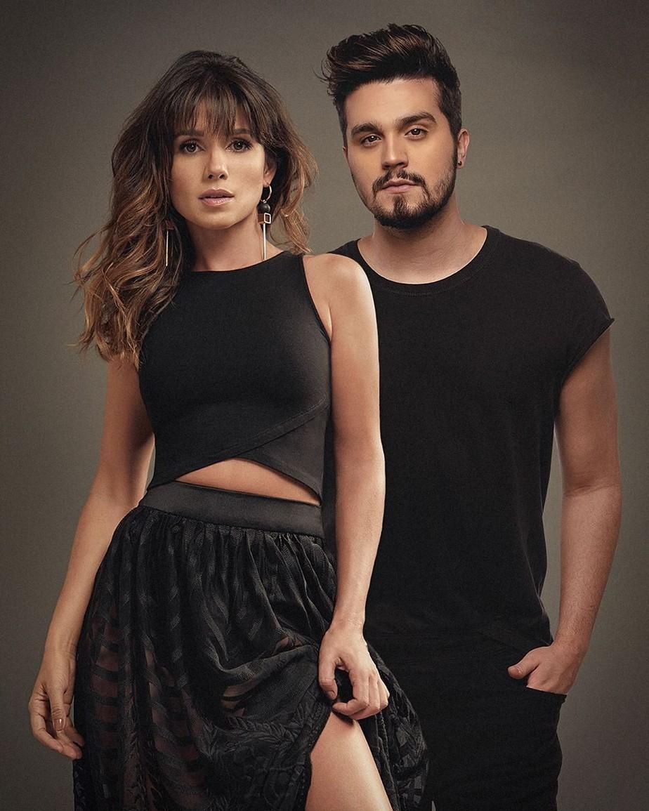 Juntos e shallow now? Luan Santana revela que dueto com Paula Fernandes foi gravado separadamente