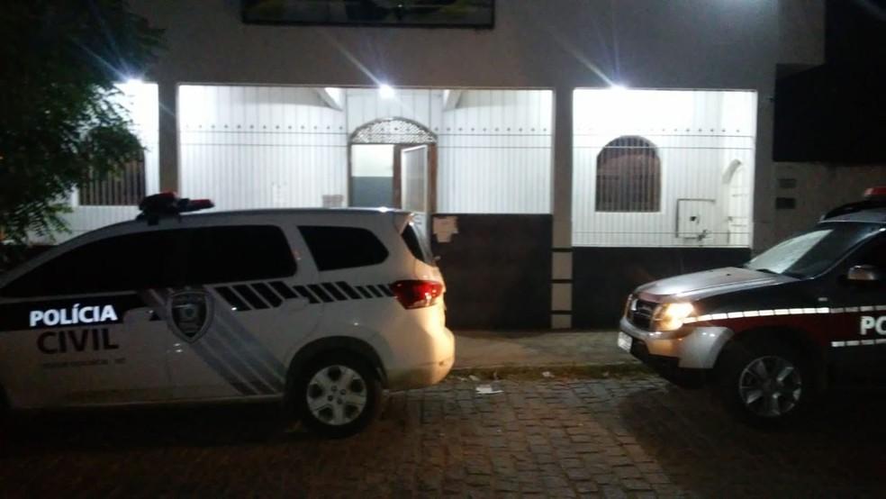 Delegacia de Paulista, no Sertão da Paraíba — Foto: Polícia Civil/Divulgação
