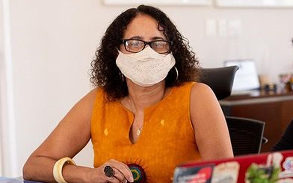 Vice-governadora Luciana Santos anuncia que foi diagnosticada com Covid-19  pela segunda vez | Pernambuco | G1