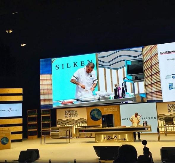 Jefferson Rueda, da Casa do Porco, abriu a 21ª edição do Gastronomika, o mais importante encontro de gastronomia do mundo, em San Sebastian