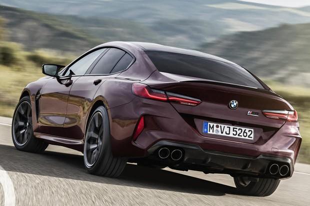 BMW M8 Competition Gran Coupe (Foto: Divulgação)