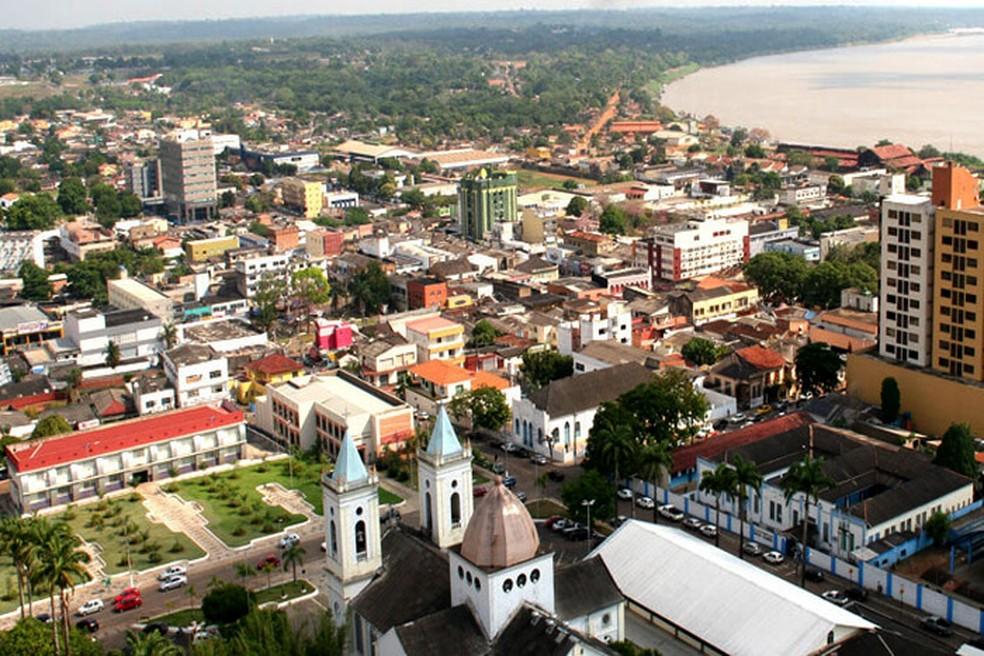 Porto Velho, capital de Rondônia  — Foto: Reprodução