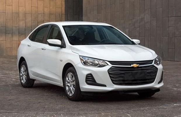 Novo Chevrolet Prisma será vendido como Onix sedã na China (Foto: Reprodução/Autohome.com.cn)