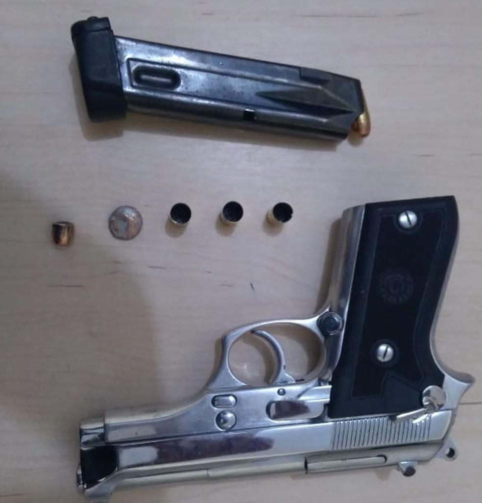 arma - Homem comete suicídio após tentar matar a esposa a tiros, no PA