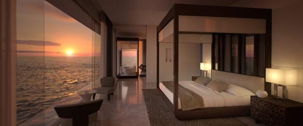 Primeiro hotel subaquático do mundo é inaugurado nas Maldivas (Foto: Reprodução)