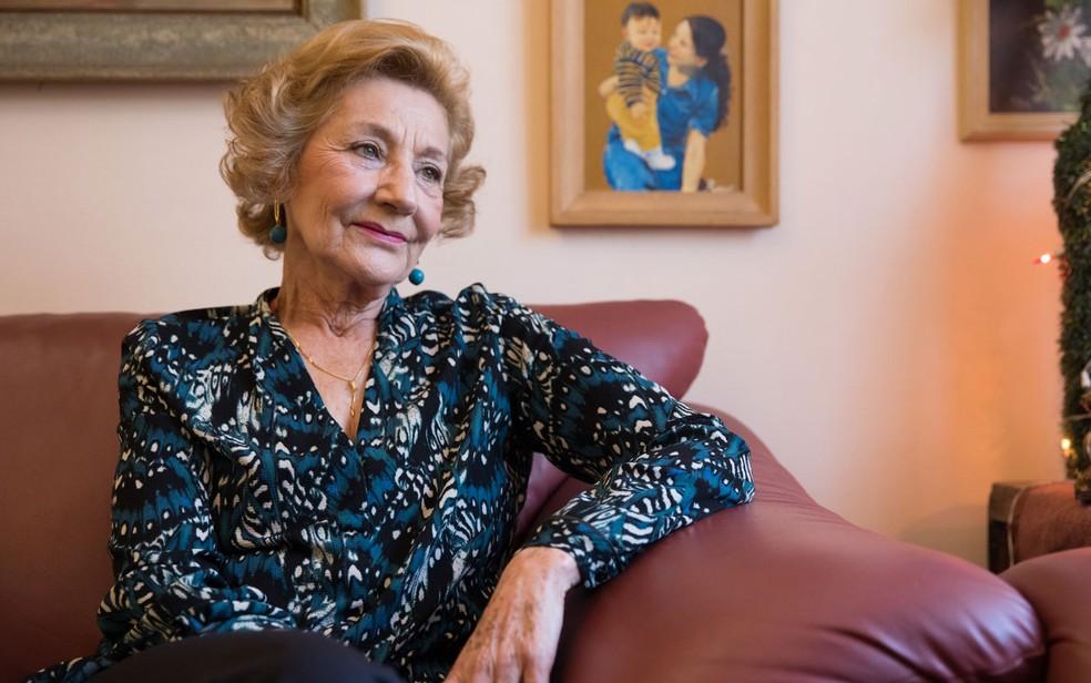 Irotilde Gonçalves Pereira, assistente social que trabalhou quase três décadas no programa de aborto legal de SP (Foto: Celso Tavares/G1)