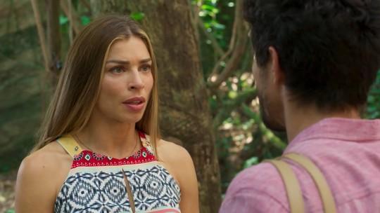 Paloma tem conversa sincera com Marcos sobre paixão