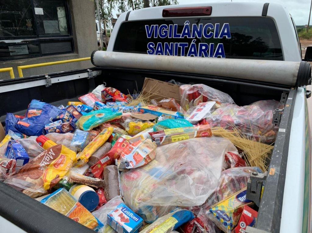 Fiscalização apreende mais de uma tonelada de alimentos estragados em Maceió