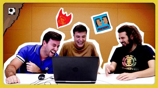 """Colo-Colo ou meme do Chico Buarque? Bola Quadrada enfrenta Cartolouco no """"Desenhando Escudos"""""""