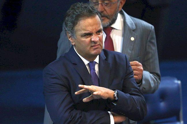 Senador Aécio Neves (Foto: Andre Coelho / Agência O Globo)