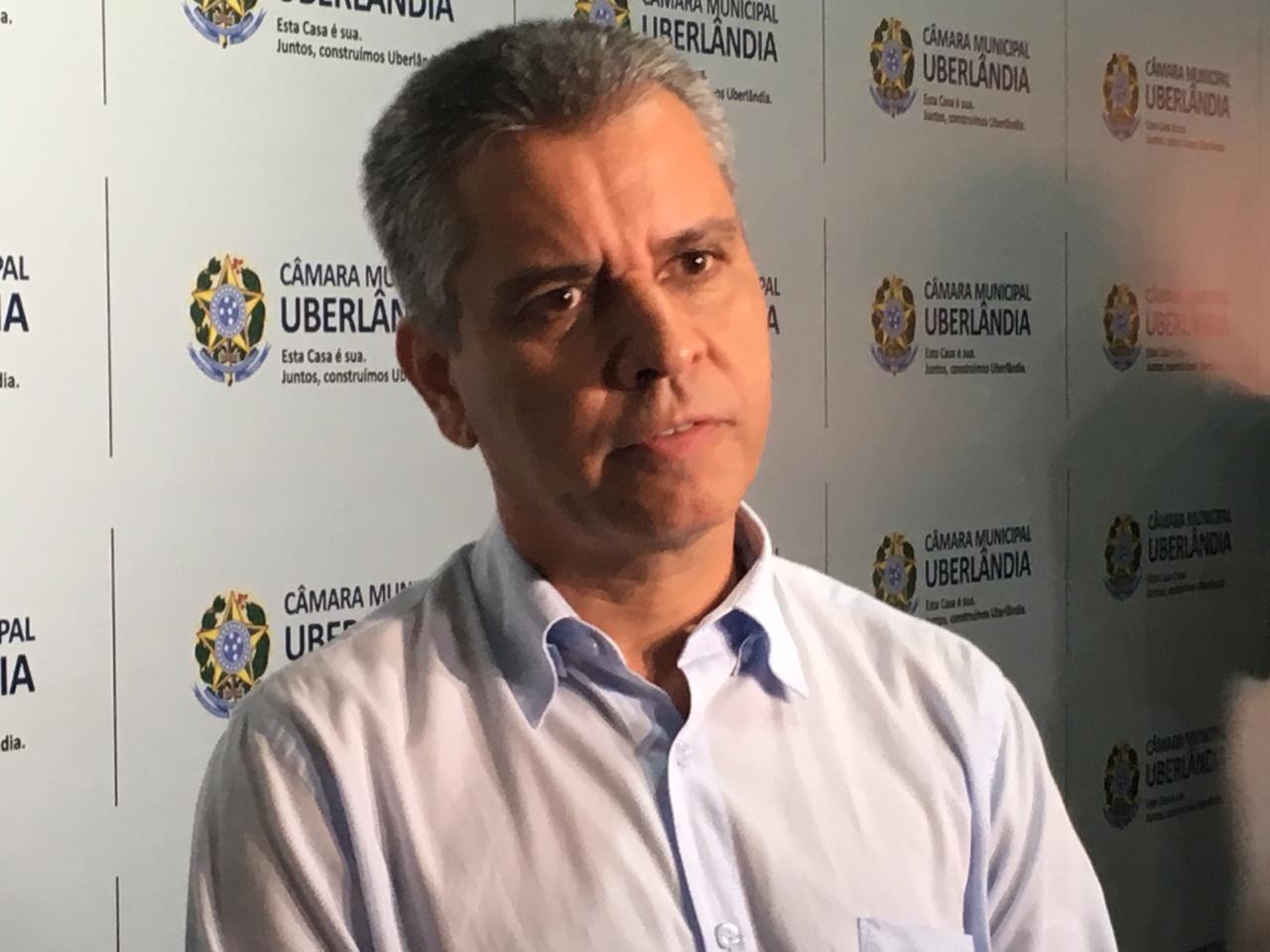 Vereador afastado Marcelo Cunha retoma função na Câmara de Uberlândia após decisão da Justiça