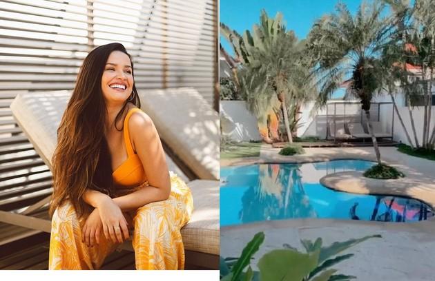 Faturando alto com publicidade, Juliette alugou imóvel no Rio com piscina e área gourmet após temporada na casa de Anitta (Foto: Reprodução)