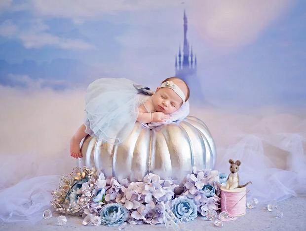 Cinderela recém-nascida (Foto: Karen Marie)