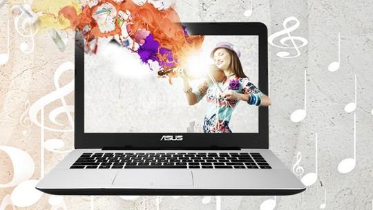 Foto: (Notebook da Asus vem com tela em HD e processador Core i3 (Foto: Divulgação/Asus))