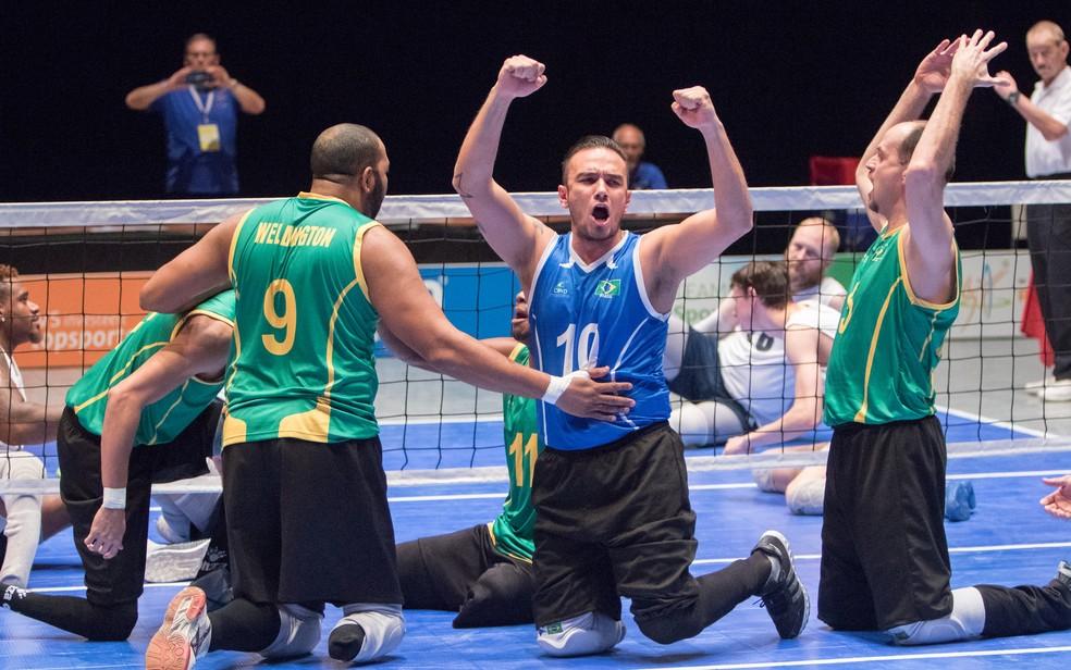 Brasil avança às semifinais do Mundial de vôlei sentado (Foto: World Paravolley)