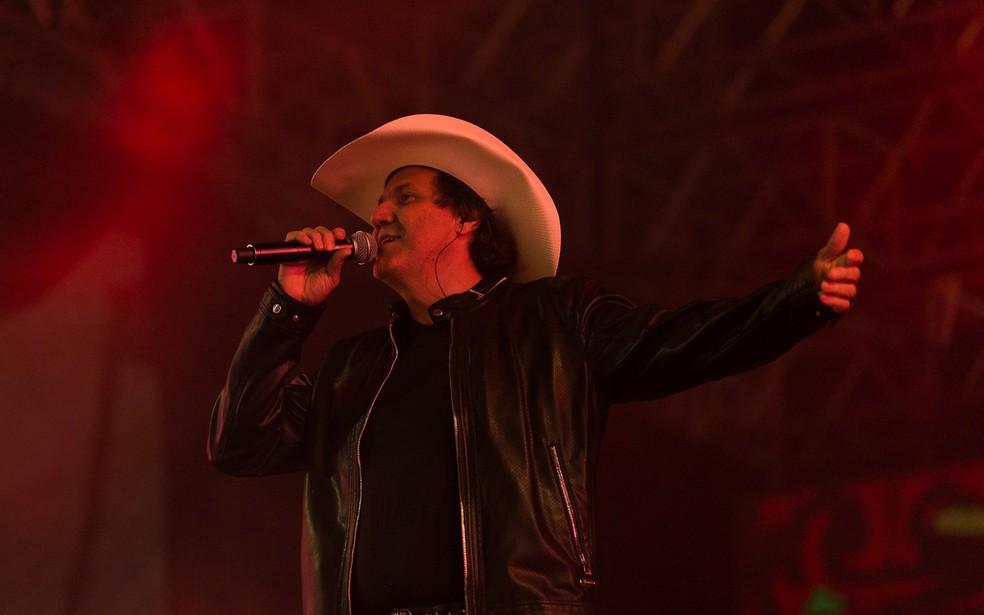 O cowboy Juliano Cezar morreu na madrugada desta terça-feira (31) no interior do Paraná — Foto: Érico Andrade/G1