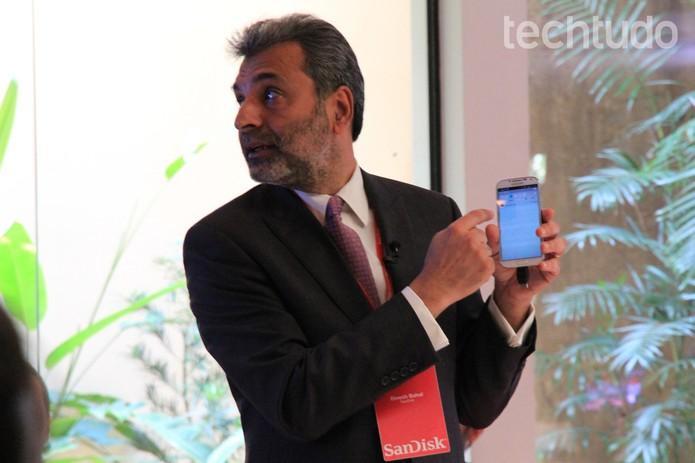Novo modelo voltado para smartphones (Foto: Isadora Díaz/TechTudo)