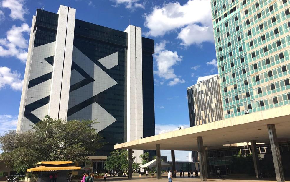 Sede do Banco do Brasil no Setor Bancário Sul, no centro de Brasília (Foto: Luiza Garonce/G1)