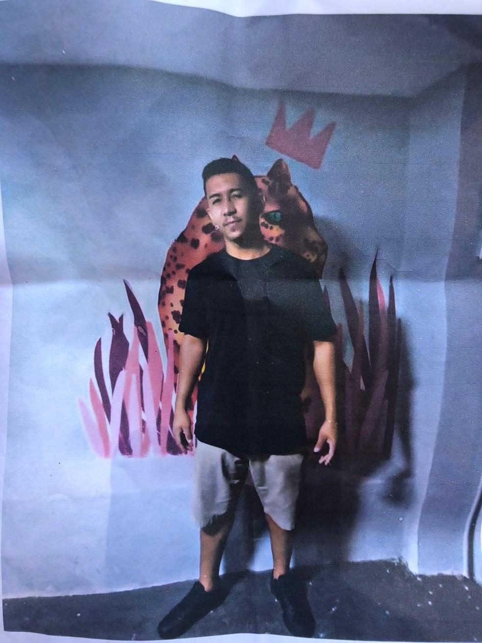 Jovem que sumiu no dia do aniversário é encontrado morto no rio Poti, na Zona Leste de Teresina — Foto: Arquivo pessoal