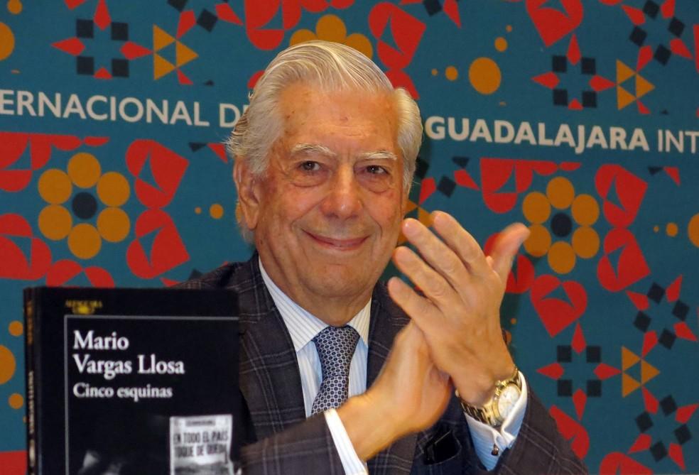 Vargas Llosa (Foto: Berenice Bautista/AP)