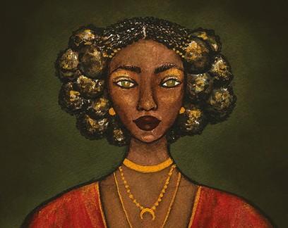"""""""Negras cabeças"""": exposição de baiana exalta mulheres de etnias africanas"""