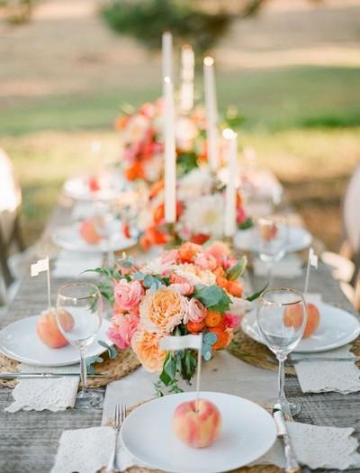 casamento-campo-interior-festa-decoração-decor-coral (Foto: Pinterest/Reprodução)