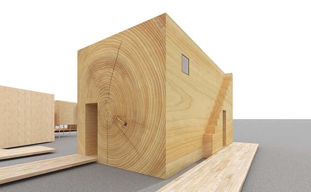 9. Woodgrain House: Hara Design Institute x Toppan Printing