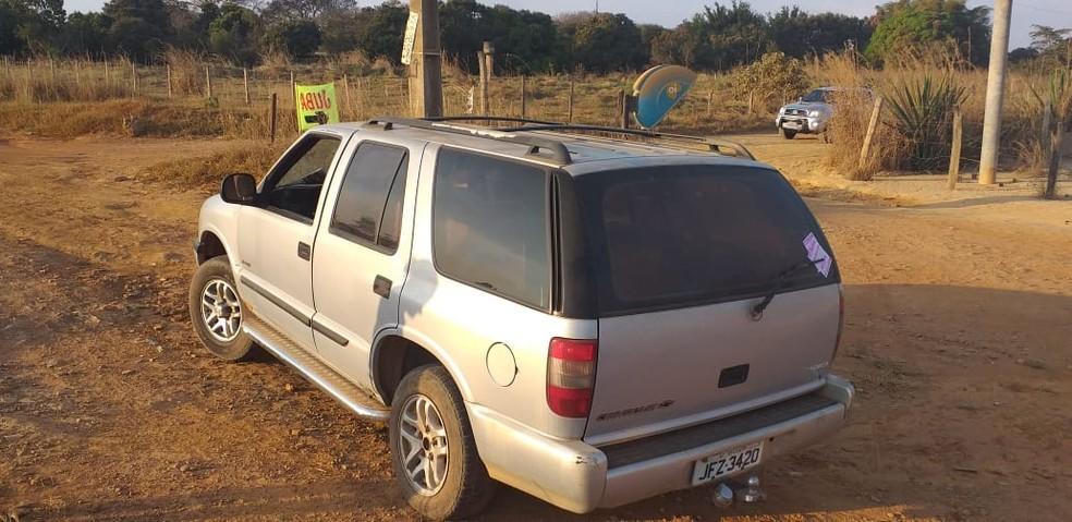 Carro onde funcionária do MEC teria entrado, na sexta-feira (23), antes de desaparecer, segundo Polícia Civil do DF — Foto: Polícia Civil do DF / Divulgação
