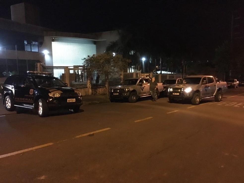 Operação contra desvios de recursos públicos prendeu 20 pessoas  (Foto: Divulgação/PF)