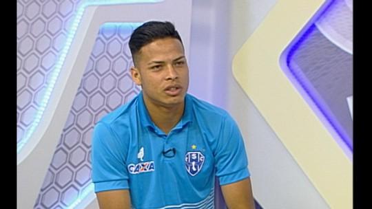 De atacante na base a lateral titular do Paysandu, Matheus Silva revela inspiração em Yago Pikachu
