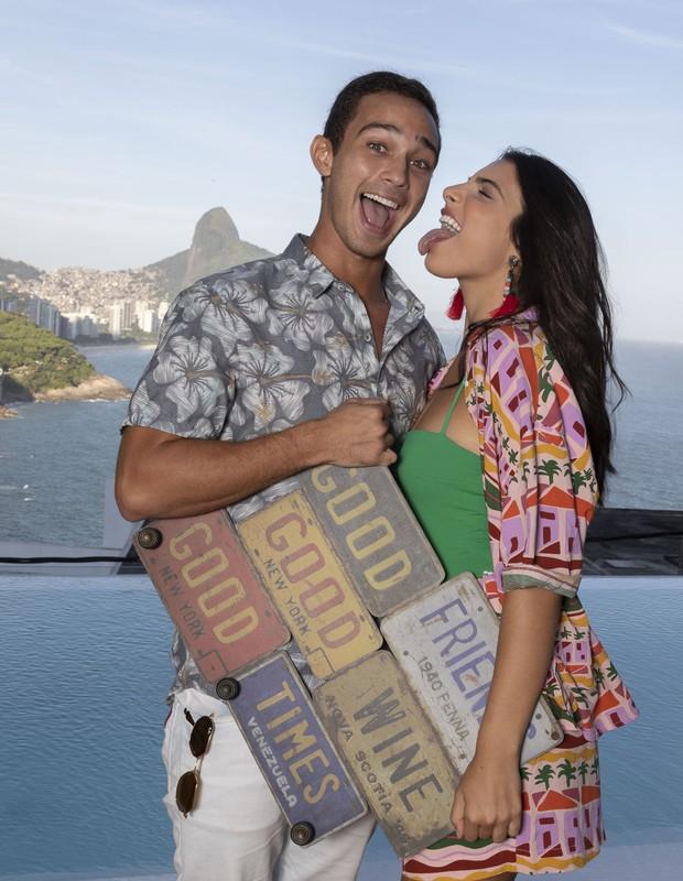 André Luiz Frambach e Rayssa Bratillieri (Foto: Léo Lemos / Ed. Globo)
