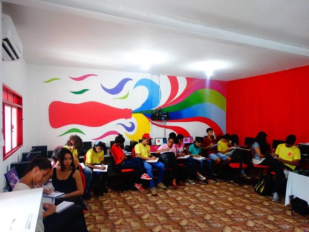 Instrituto Coca-Cola oferece cursos de capacitação profissional para jovens em Ribeirão Preto-SP (Foto: Samuel Pereira Júnior/Divulgação)