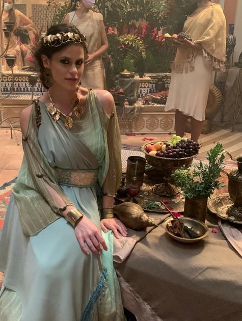 Talita Tilieri em 'Gênesis' (Foto: Divulgação)