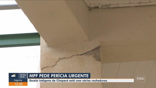 MPF abre procedimento para investigar irregularidades em estrutura de escola em Chapecó