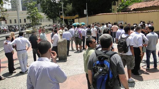 Fila ingresso Botafogo  (Foto: Divulgação  / Facebook Botafogo)