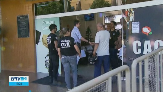 Polícia cumpre mandados de busca e apreensão na Câmara de Vereadores de Passos, MG