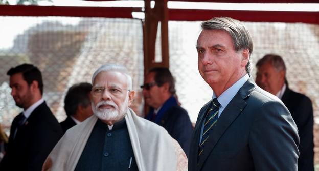 Brasil e Índia se comprometem a dobrar comércio bilateral até 2022, chegando a US$ 15 bilhões