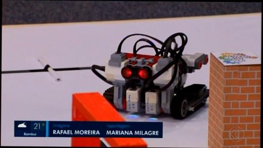 Divinópolis cedia etapa regional de Olimpíada de Robótica