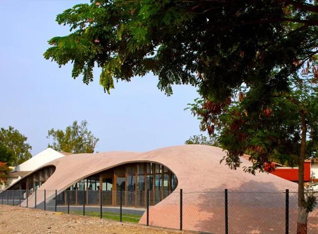 Localizada em uma escola na cidade Kopargaon, estado indiano de Maharashtra (Foto: sP+a/ Reprodução)