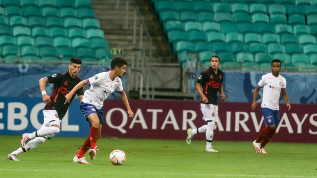 Daniel foi titular do Bahia na noite desta quinta, contra o Melgar-PER