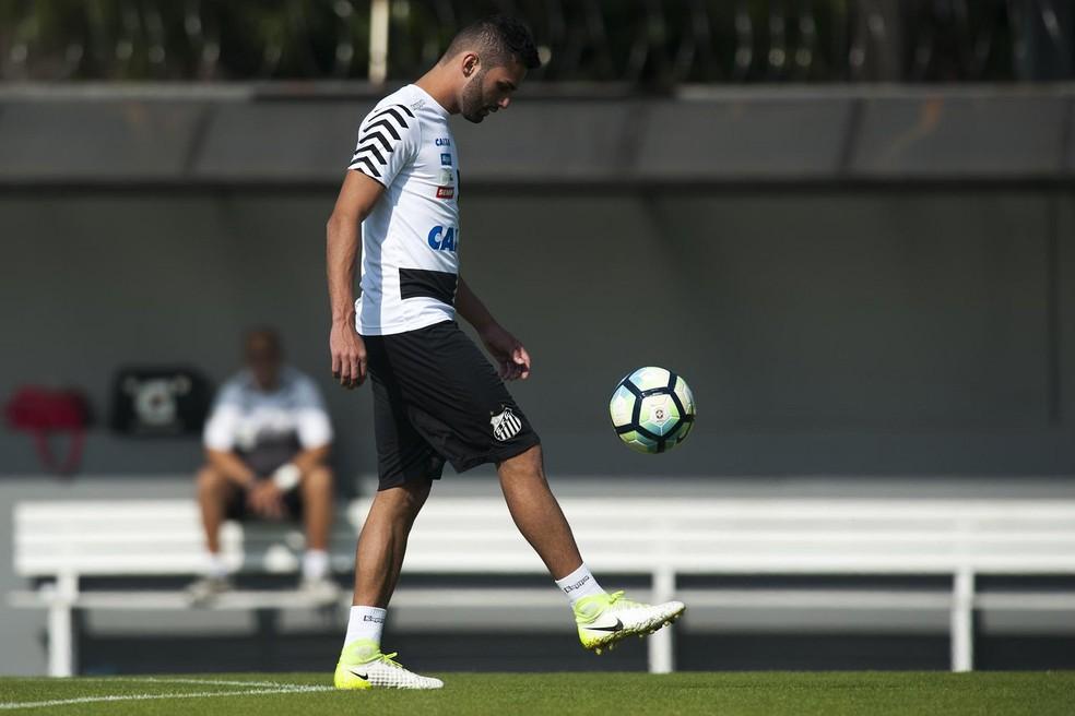 Thiago Maia recebeu proposta do Lille, da França (Foto: Ivan Storti/Santos FC)