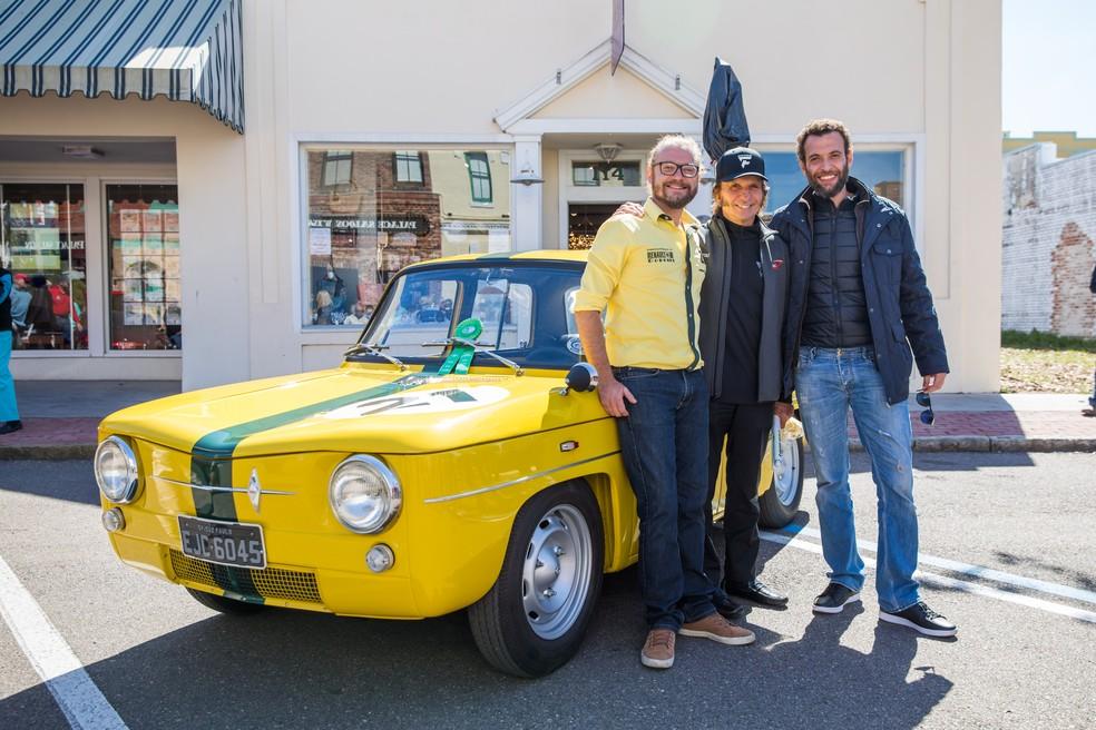 Renault da primeira vitória da carreira de Emerson Fittipaldi pertence ao colecionador brasileiro Maurício Marx (Foto: Deremer Studios LLC)