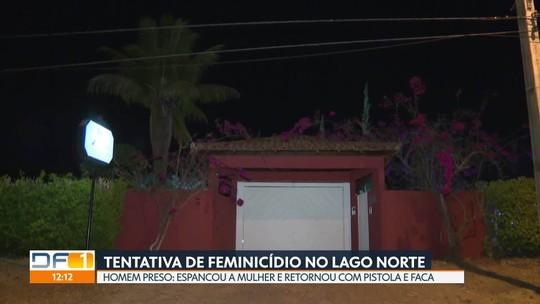 Homem é preso por tentativa de feminicídio