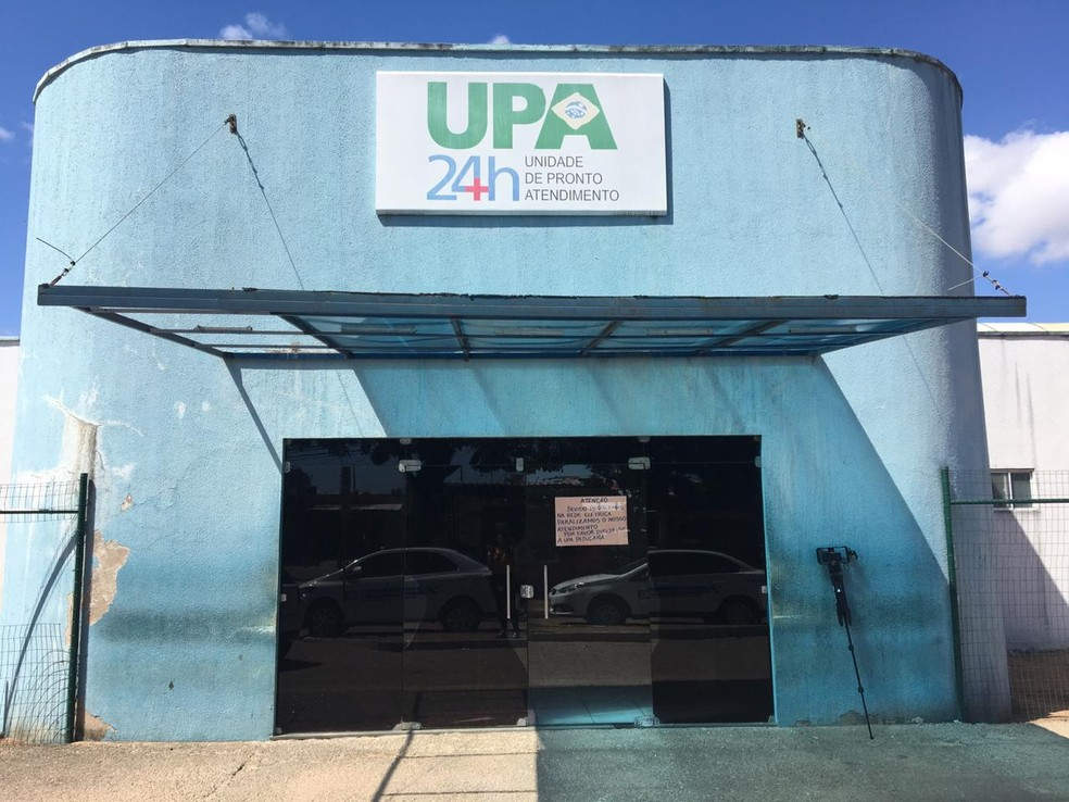 UPA do Potengi, na Zona Norte de Natal, opera com os leitos 220% ocupados — Foto: Quezia Oliveira/Inter TV Cabugi