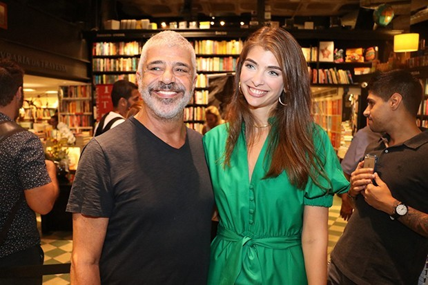 Lulu Santos e Maria Frering Câmara (Foto: Rogerio Fidalgo/ AgNews)